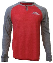 M1 Red and Grey Henley